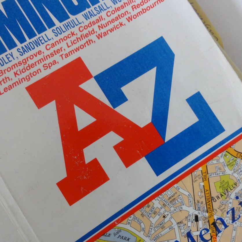 A-Z street finder (Liz Allam)
