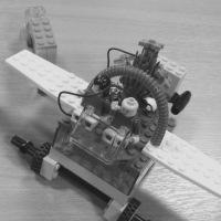Lego aeroplane