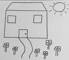 18 Outline of a house