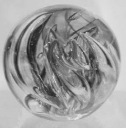 Glass paperweight (Jo Lucas)