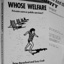 Whose welfare (Peter Beresford)